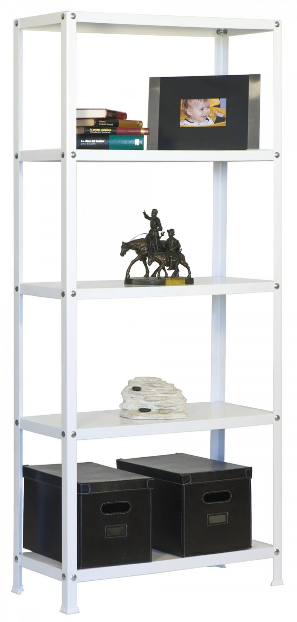 ESTANTERÍA DECORATIVA KIT HOMECLASSIC MINI 5/300 BLANCO/BLANCO