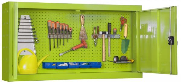 Armario metálico para guardar herramientas KIT CABINET TOOLS PANNEL 900mm VERDE