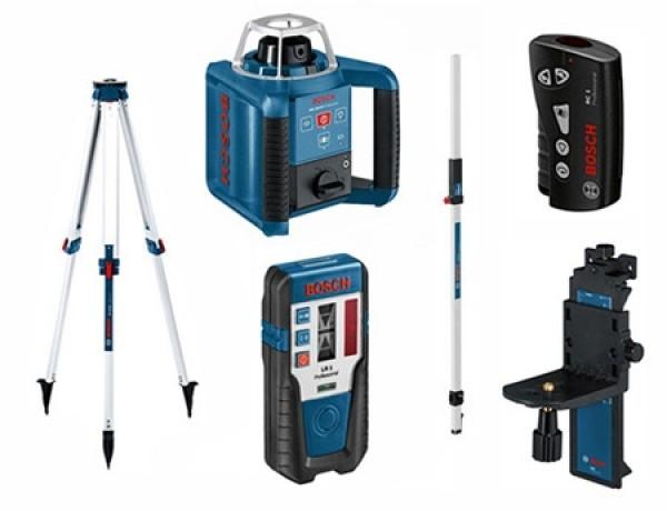 Nivel láser giratorio GRL 300 HV Professional Set Bosch