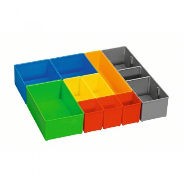Caja i-BOXX 72 inset box con set de 10 unidades Professional Bosch