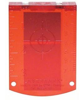 Placa reflectora de medida (rojo) Bosch