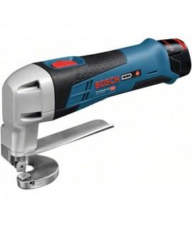 Cizalla de chapa de batería GSC 12V-13 + 2x2,0Ah + L-BOXX Bosch