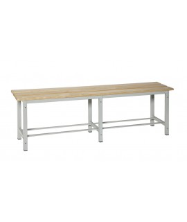 BANCO MADERA-METAL SIMONLOCKER DISM. WOOD BENCH 1500
