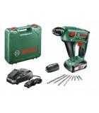 Martillo perforador a batería Uneo Maxx 18V (2,5Ah) +maletín Bosch