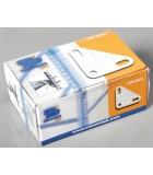 Caja/Box 100 ESCUADRAS BLANCAS
