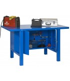 BANCO DE TRABAJO KIT SIMONWORK BT6 METALIC LOCKER 1200 AZUL