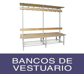 bancos de vestuario metálicos y de madera baratos