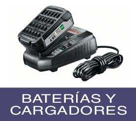 baterías y cargadores bosch profesional