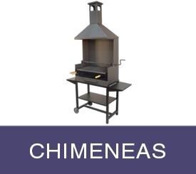 chimeneas barbacoas baratas