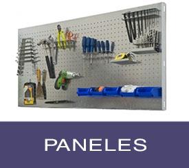 paneles perforados metálicos para las herramientas del tallet