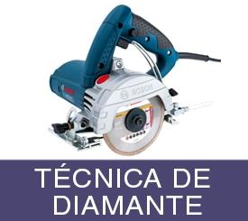 tecnica de diamante bosch profesional