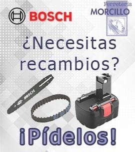 Recambios de Herramientas Bosch